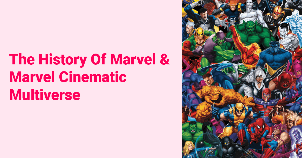 The History Of Marvel & Marvel Cinematic Multiverse